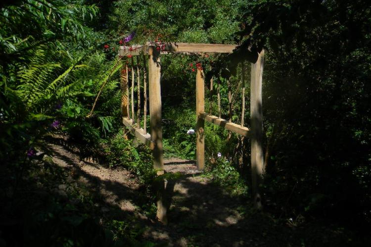 Oak Rose Arch